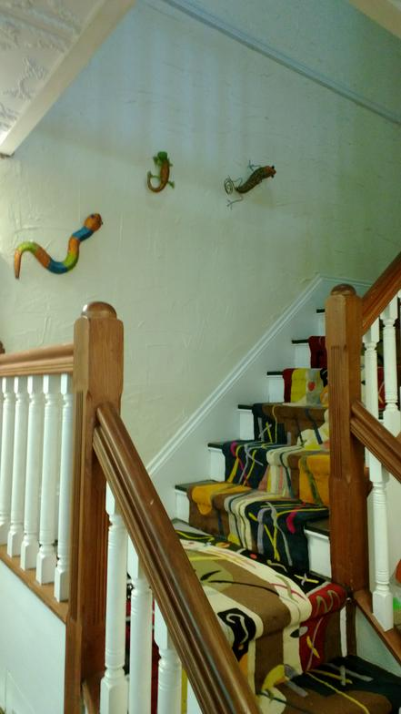 Staircase & Wall Design